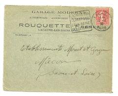 TARN - Dépt N° 81 = LACAUNE 1930 =  FLAMME  DAGUIN ' REINE Des CEVENNES / CLIMAT + EAUX ' - Marcophilie (Lettres)
