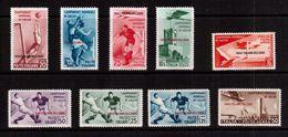 Italy(Egeo)-1934,(Mi.137-145) ,Football, Soccer, Fussball,calcio,MH - Fußball-Weltmeisterschaft