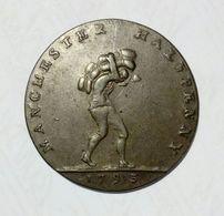 MANCHESTER - HALF Penny Token ( 1793 ) Copper - Monetary/Of Necessity