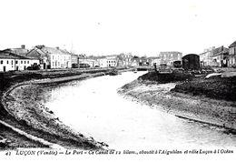 Lucon. Le Port Et Le Canal De 12 Kilomètres. - Lucon