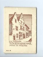 Tournai La Maison Tournaisienne Musée De Folklore ( Pochette De 10 Cartes ) - Tournai