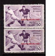 Italy(Egeo)-1934,(Mi.139) Pairs ,Football, Soccer, Fussball,calcio,MNH - Fußball-Weltmeisterschaft