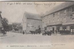 MARVEJOLS     HOTEL DE LA PAIX  AVENUE DE LA GARE - Marvejols
