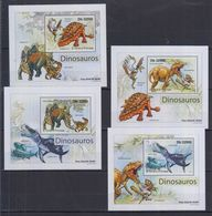 Q61. MNH S Tome E Principe Nature Animals Prehistoric Animals - Prehistorics