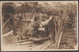 Friuli 1 WW Artiglieria Militari Artiglieri Cannone 1 WW Artillery Cannons Mortar Obice - War, Military