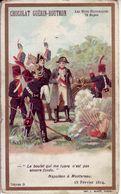 - CHOCOLAT GUERIN-BOUTRON - Les Mots Historiques - Napoléon à Montereau - - Guerin Boutron