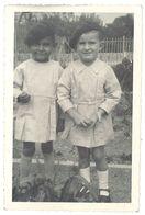 Photo Amateur Enfants, Garçonnets Avec Béret - Personnes Anonymes
