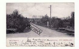 Oud Beierland - Achterweg Met Windmolen - 1903 - Otros
