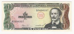 Dominicana 1 Peso 1984 Almost UNC - Dominicana