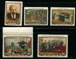 Russia 1954  Mi 1696-1700 MNH OG ** - 1923-1991 URSS