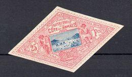 !!! PRIX FIXE : COTE DES SOMALIS, N°20 NEUF SANS GOMME SIGNE CERES - Côte Française Des Somalis (1894-1967)