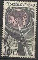 Cecoslovacchia Lotto N.200  Del 1965 Yvert N.1386 Usato Avvenimenti Dell'astronautica - Tschechoslowakei/CSSR