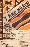 84- AVIGNON- RARE PARTITION BOLERO-Y ANO NUEVO-TITO SYLVA-DIFFUSION MUSICALE TROPICALE-G. SYLVESTRE 5 RUE BANCASSE- - Partitions Musicales Anciennes