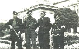 [Libération] Groupe Du Bataillon FTP Soleil, Jardins De L'hôtel De Ville à Angoulême - Vendredi 1er Septembre 1944 - Histoire