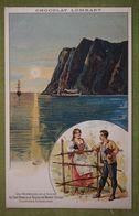 Chocolat LOMBART - Les Merveilles De La Nature - Le Cap Nord Et Le Soleil De Minuit (Norvège) - Costumes Norvégiens - Publicidad