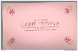 Buvard - Crédit  Lyonnais - Bank & Insurance