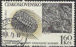 Cecoslovacchia Lotto N.206 Del 1968 Yvert N.1661 Usato Congresso Di Geologia - Gebraucht