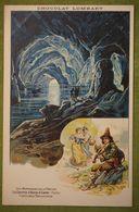 Chocolat LOMBART - Les Merveilles De La Nature - La Grotte D'Azur à Capri (Italie) - Costumes Napolitains - Advertising