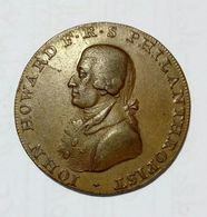 CHICHESTER & PORTSMOUTH  - Half Penny Token ( 1794 ) John Howard - Copper - Monetary/Of Necessity