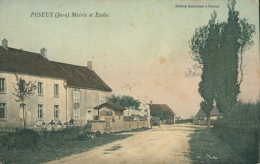 39 PESEUX / Mairie Et Ecoles / - Other Municipalities
