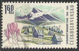 Cecoslovacchia Lotto N.208 Del 1969 Yvert N.1742 Usato Parco Nazionale Del Tatras - Gebraucht