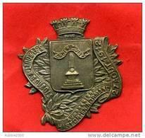 MEDAILLE METAL 27 AOUT 1912 SAINT EVROULT NOTRE DAME DU BOIS A ORDERIC VITAL HISTORIEN NORMAND ECCLESIASTIQUE ORNE - France