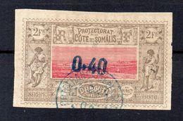 !!! PRIX FIXE : COTE DES SOMALIS, N°25 OBLITERE - Côte Française Des Somalis (1894-1967)