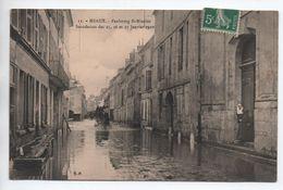 MEAUX (77) - INONDATION DES 25,26, ET 27 JANVIER 1910 - FAUBOURG SAINT NICOLAS - Meaux