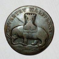 COVENTRY - Half Penny Token ( 1792 ) Lady Godiva - Copper - Monetary/Of Necessity