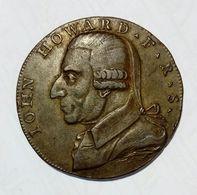 WESTMINSTER - Half Penny Token ( 1792 ) John Howard - Copper - Monetary/Of Necessity