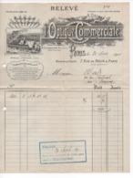 Cpa.Factures Et Documents Commerciaux.1911.Relevé. L'Optique Commerciale. - 1900 – 1949