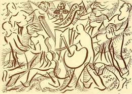14  HEROUVILLE  CARTE SOUVENIR DE LA FETE DE LA ROSE 1979   -  ILLUSTRATION  PAUL JOSE GOSSELIN - Herouville Saint Clair