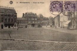 Belgique MORLANWELZ  Place Du Préau - Morlanwelz
