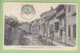 PONTCHARRA SUR TURDINE : Les Bords De La Turdine. 2 Scans. Edition B F - Pontcharra-sur-Turdine