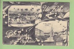 PONTCHARRA SUR TURDINE : Un Bonjour. Multivue. TBE. 2 Scans. Edition Déal - Pontcharra-sur-Turdine