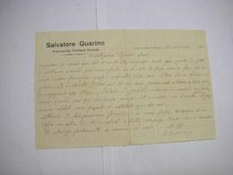FRANCAVILLA   FONTANA  -- BRINDISI  ---- SALVATORE GUARINO - Italia