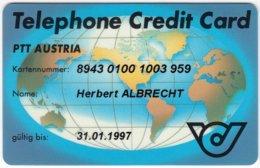 AUSTRIA N-810 Recharge Telekom - Telephone Credit Card - Used - Austria