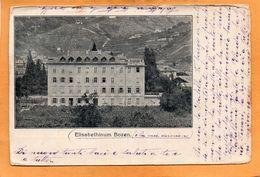 Elisabethinum Bolzano Bozen 1905 Postcard - Bolzano (Bozen)