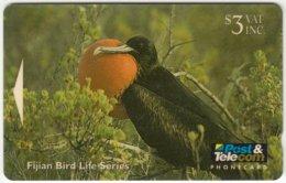 FIJI A-077 Magnetic Post&Telecom - Animal, Bird - 09FJB - Used - Fiji