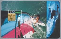 NL.- Telefoonkaart. KPN Telecom. 10 Gulden. Surfen. Watersport. A434. - Sport