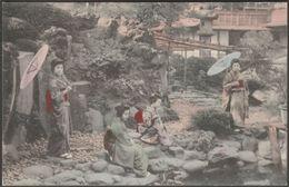 Geisha Girls, Yokohama, Japan, C.1905 - Postcard - Yokohama