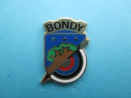 Pins Tir à L' Arc ,  BONDY ( Blason ) - Archery