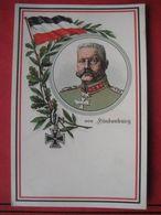 Künstlerkarte Propagandakarte Paul Von Hindenburg - Hommes Politiques & Militaires