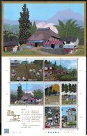 Japan 2011 - Hometowns-Scenes In My Heart Series 9 - Blocks & Sheetlets