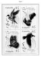 PIA - CANADA - 1995 : Uccelli Migratori  - (Yv 1422-25) - Nuovi