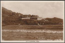 Eastern Telegraph Company Quarters, Aden, C.1920 - Benghiat RP Postcard - Yemen