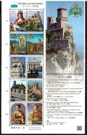 Japan 2010 - Joint Issue Republic San Marino - Blocks & Sheetlets