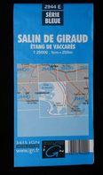 Carte IGN, N° 2944 E, Salin De Giraud, Etang De Vaccarès , Edit : 1982. - Cartes Topographiques