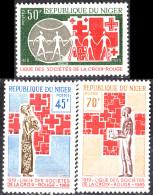 NIGER - Cinquantenaire De La Ligue Des Sociétés De Croix Rouge - Níger (1960-...)