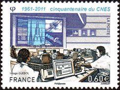 France Espace N° 4604 ** Cnes - Centre National D'études Spatiales - Space